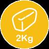 2kg loaf
