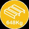 648kg pallet
