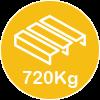 720kg pallet