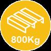 800kg pallet
